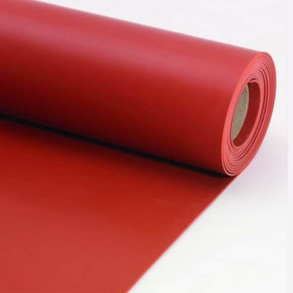 Duratuf Silicone-Rubber-Sheet-Red