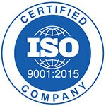 ISO 9001 Logo for Duratuf Products